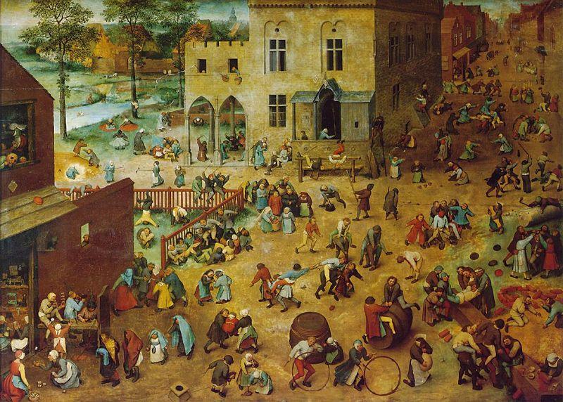 Kinderspelen van Pieter Bruegel de Oude 1560